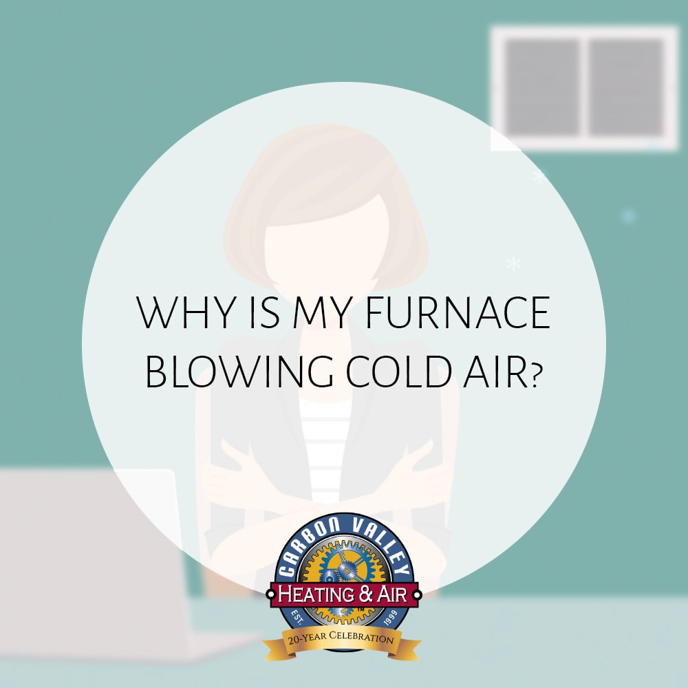 Furnace blowing cold air video.