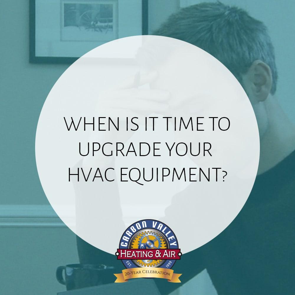 upgrade your hvac equpiment.