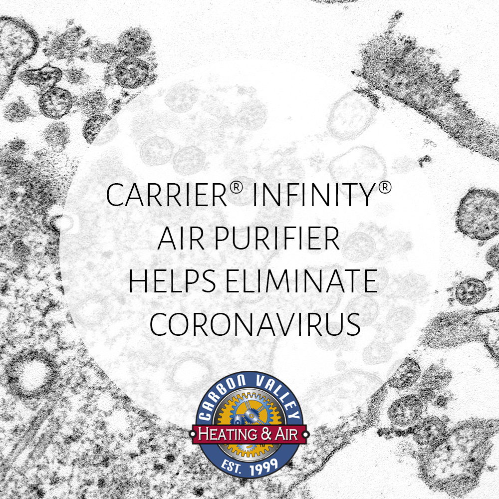 Carrier® Infinity® Whole Home Air Purifier Helps Eliminate Coronavirus in Filtered Air
