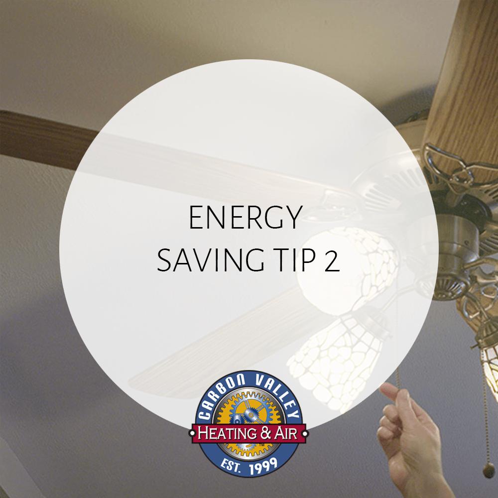 CVH Energy Saving Tip